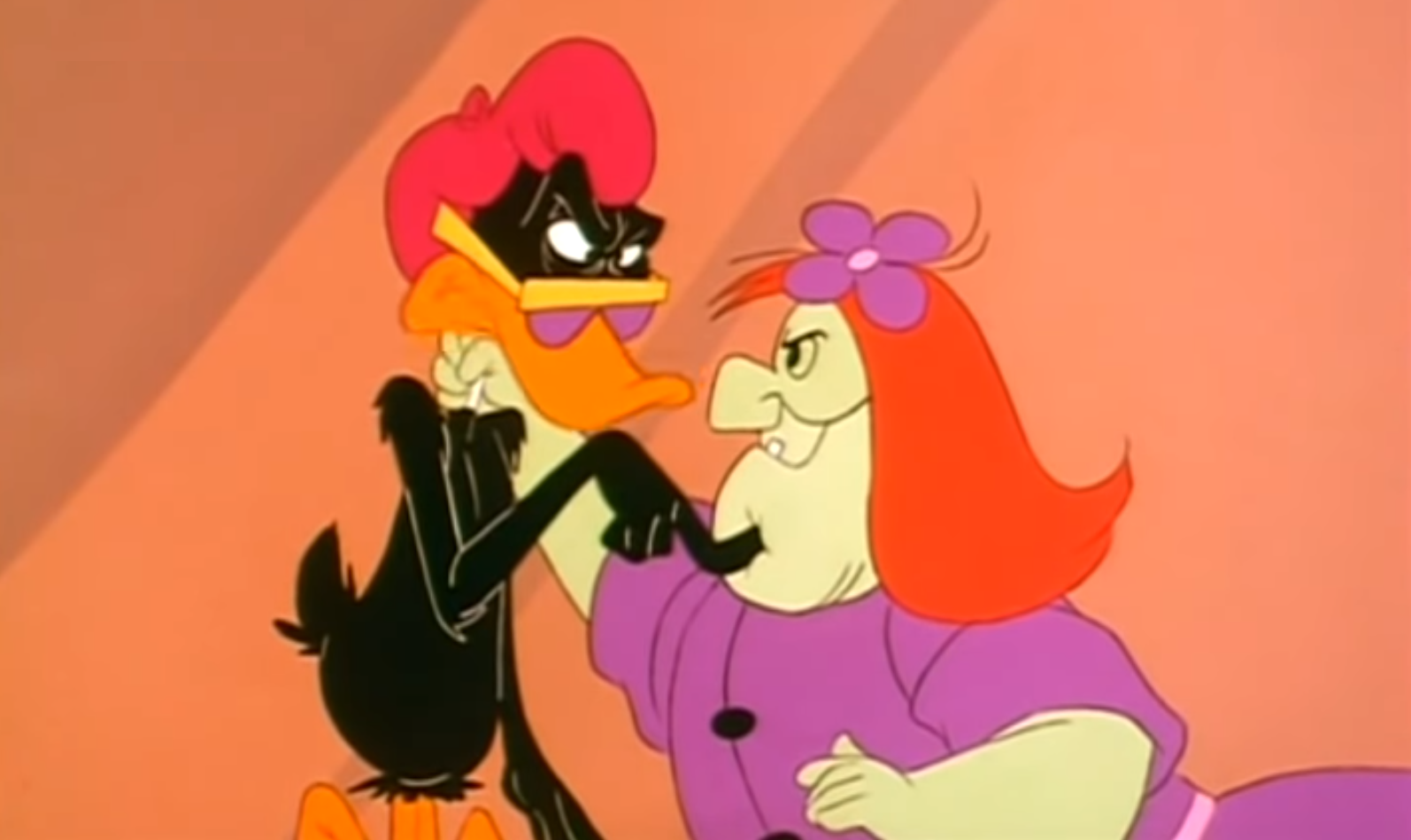 Daffy Duck and Hagatha Groovie Goolies