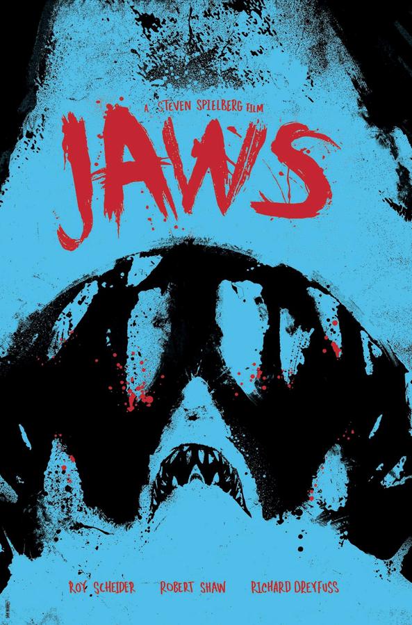 Daniel Norris Jaws Poster