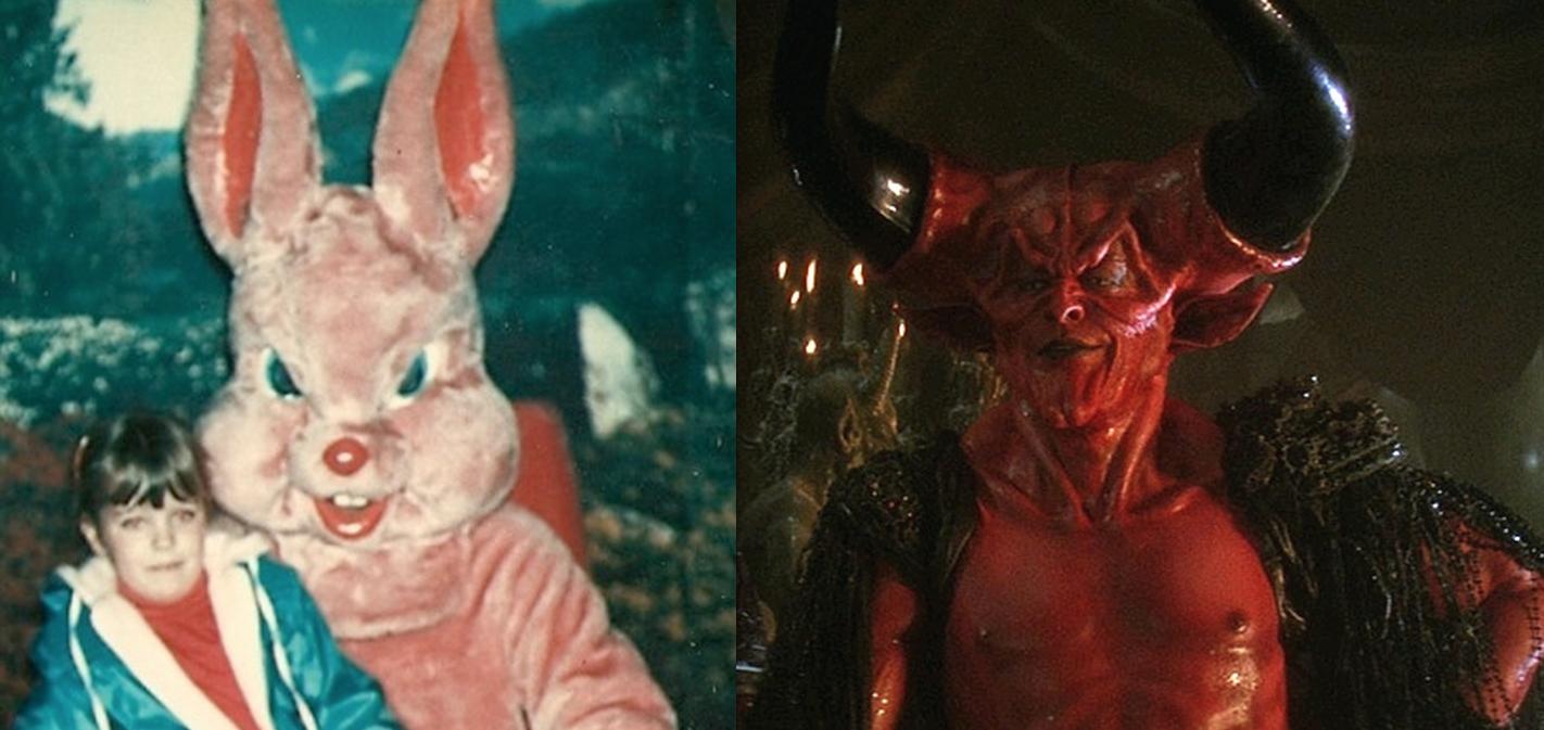Darkness Creepy Easter Bunny