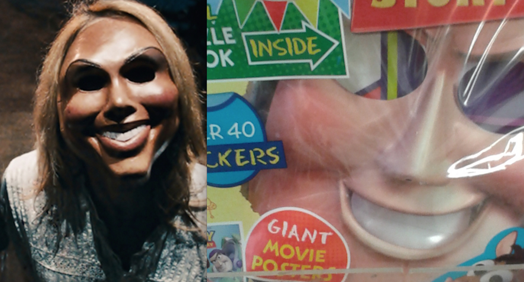 Toy Story UK Comic Magazine With Mask