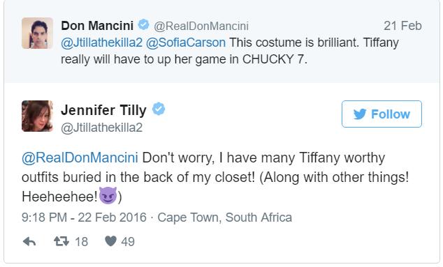 Don Mancini Tweet 1