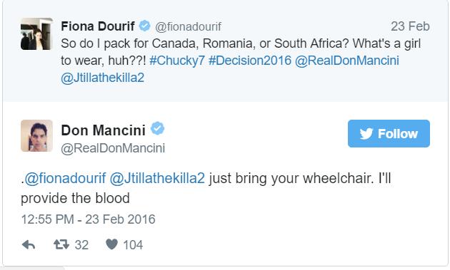 Don Mancini Tweet 2