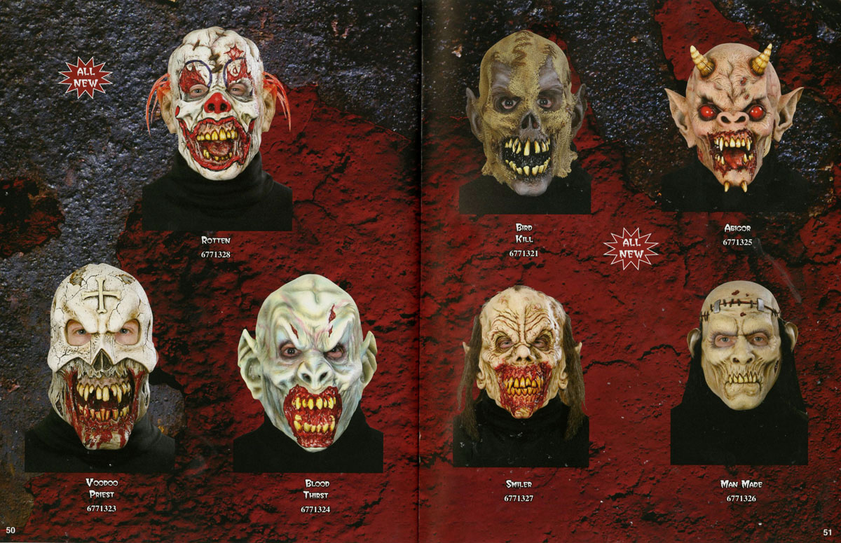 Don Post Studios' Unreleased 2012 Halloween Masks | Halloween Love