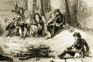 Donner Party Depiction