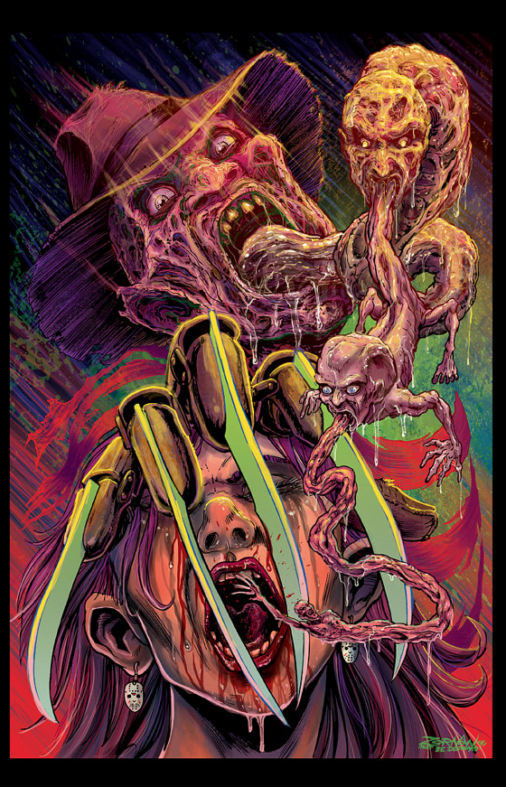 Poster Art List : A Nightmare on Elm Street Jeff Zornow