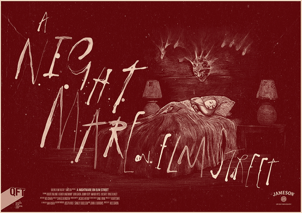 Poster Art List : A Nightmare on Elm Street Peter Strain