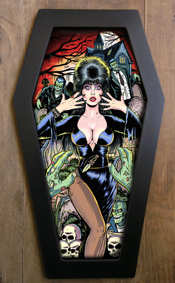 Elvira Coffin Art