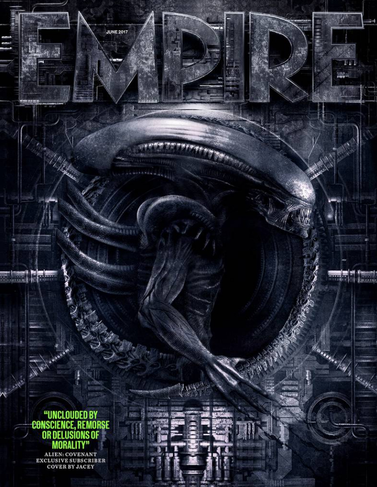 Empire Magazine Alien Covenant Cover Art