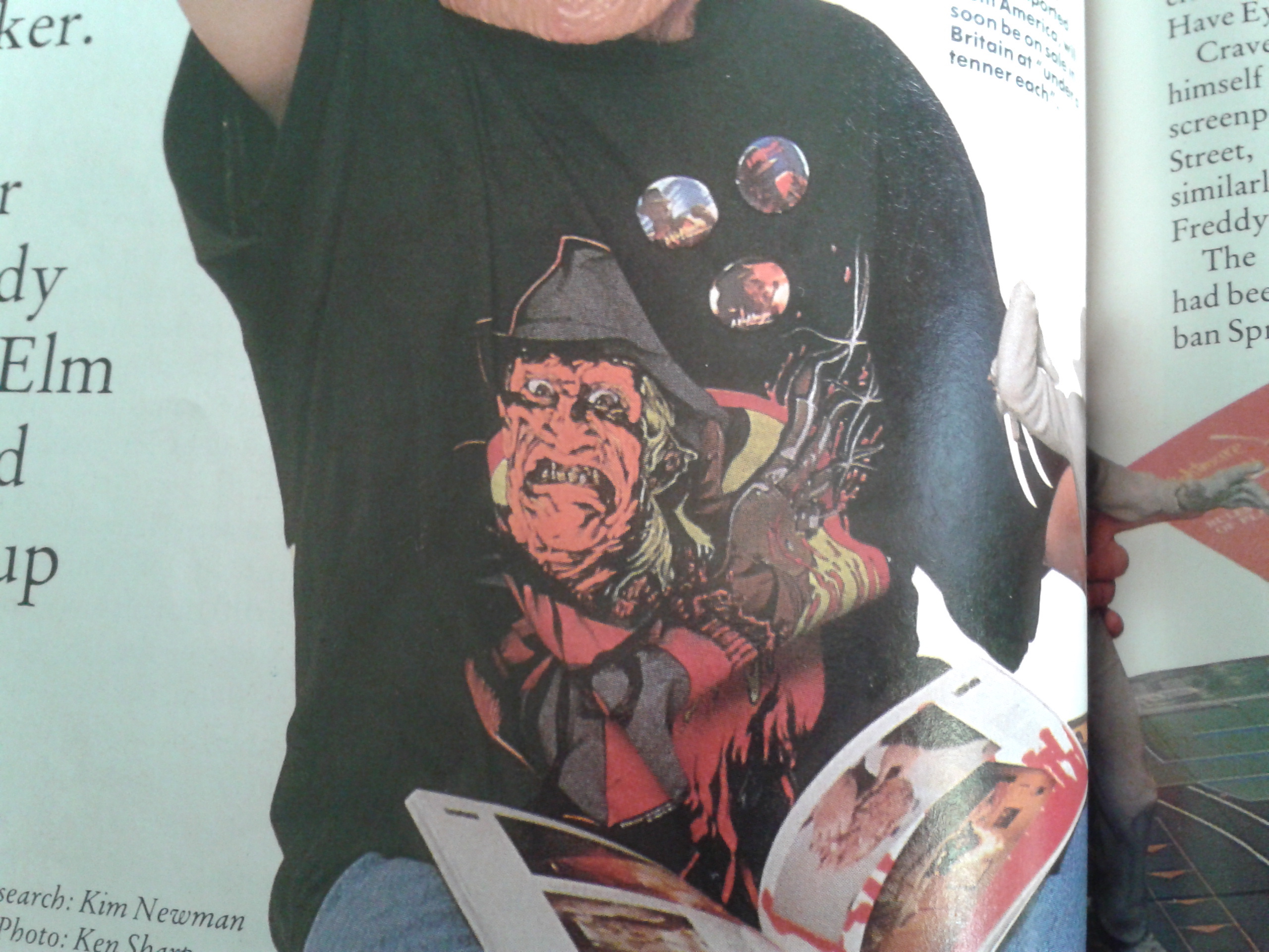 Empire Magazine Issue One Freddy T-Shirt
