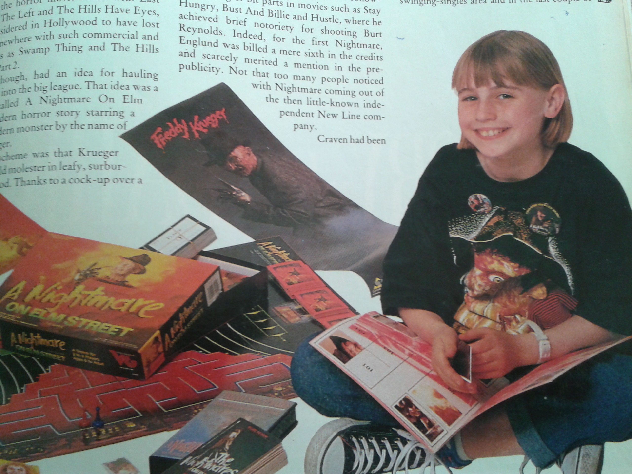 A Nightmare On Elm Street Merchandise Empire Magazine
