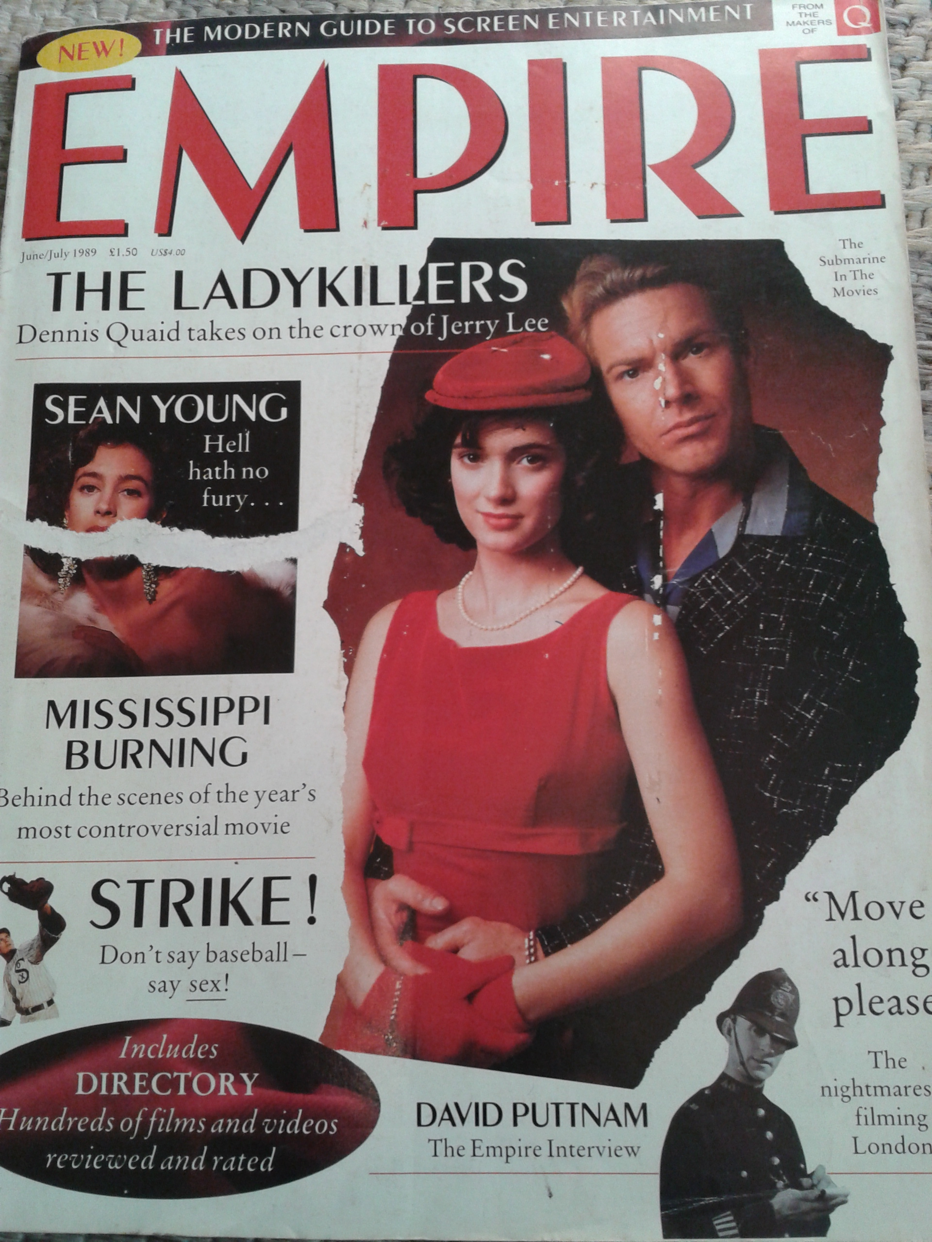 Empire Magazine Issue One 1989