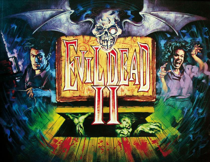 Evil Dead 2 Poster.