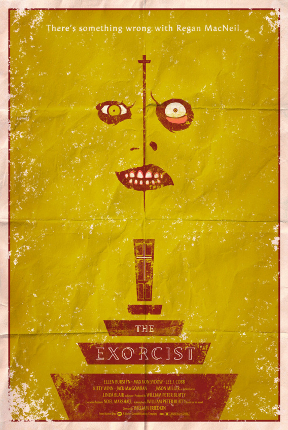Poster Art List - The Exorcist Adam Rabalais