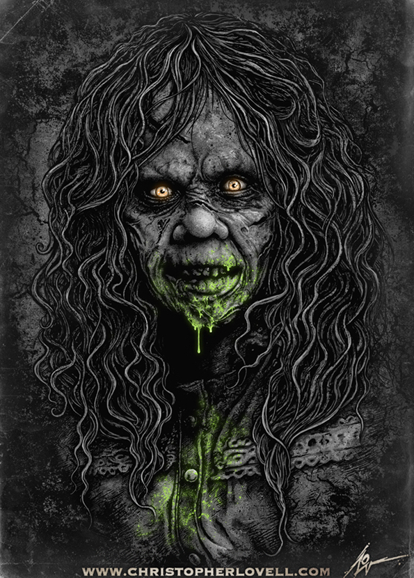 Poster Art List - The Exorcist Christopher Lovell
