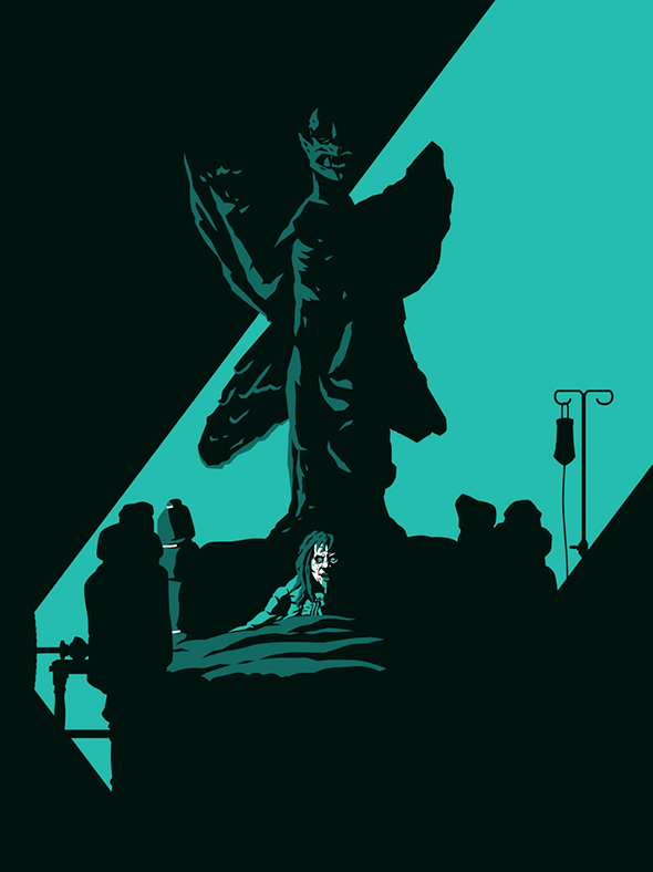 Poster Art List - The Exorcist Florey