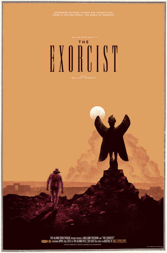 Poster Art List - The Exorcist Phantom City Creative