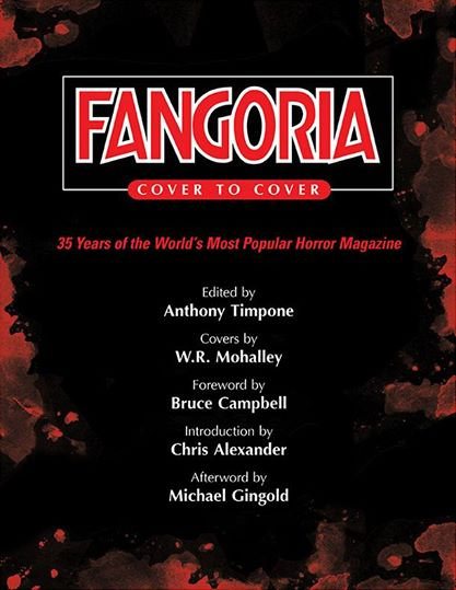 Fangoria Cover Book