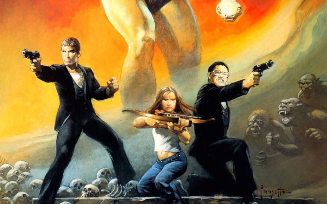 Frazetta From Dusk Till Dawn Poster Art - Halloween Love