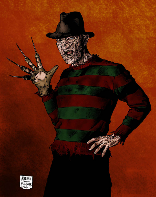 Freddy Krueger Art