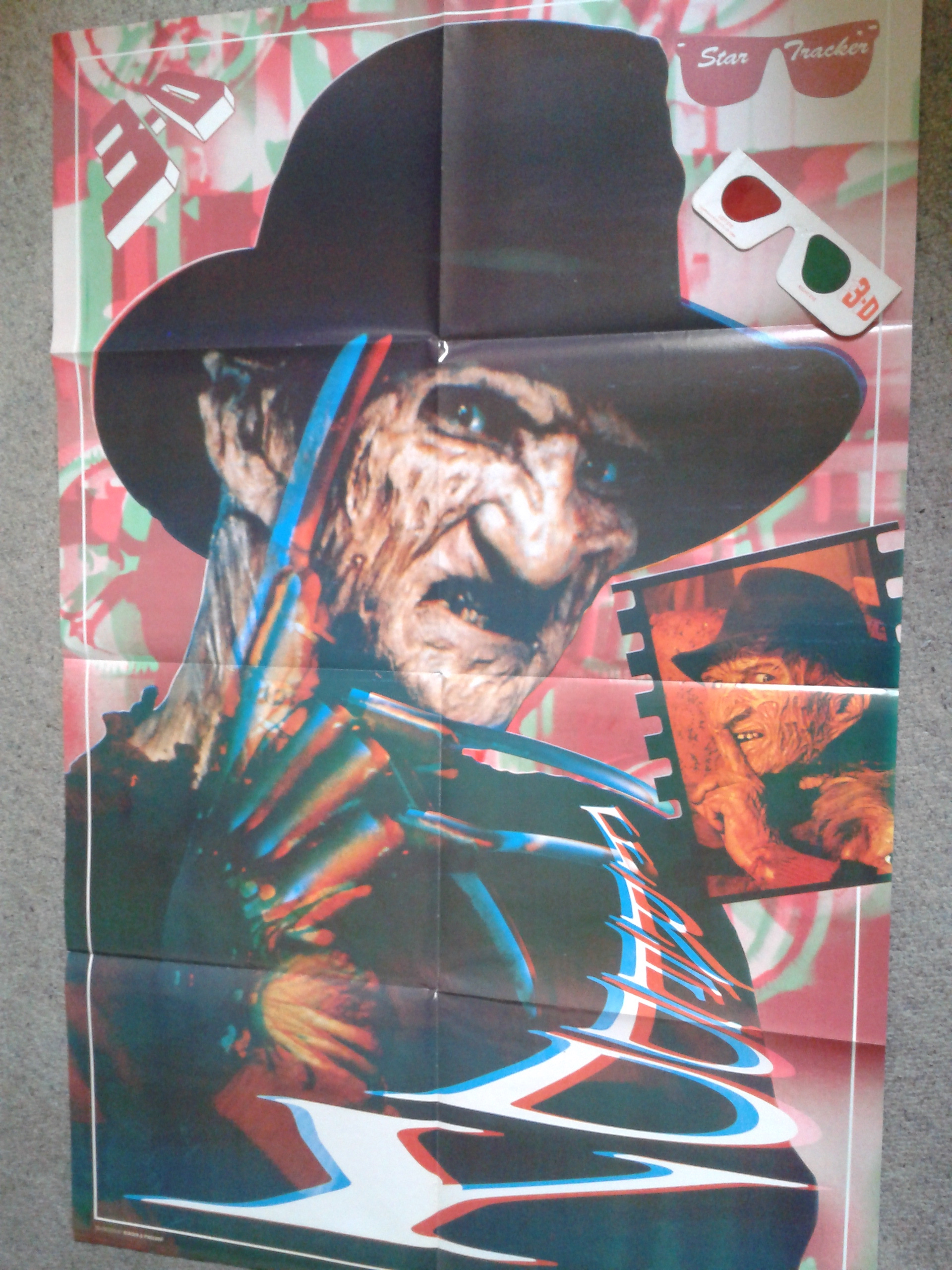 Freddy 3D Poster Magazine - Main Poster