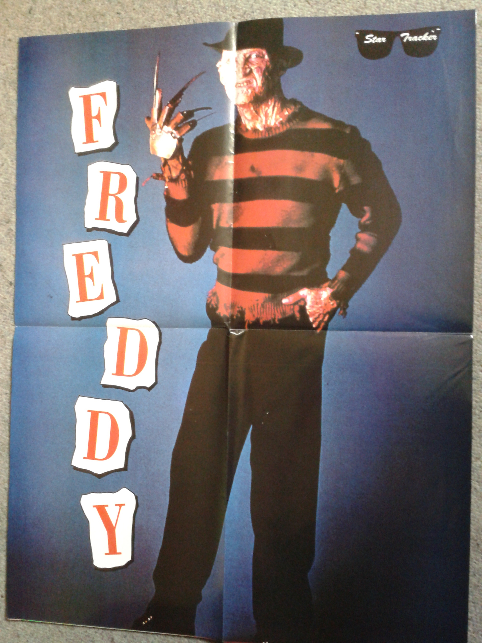 Freddy 3D Poster Magazine - Smaller Poster