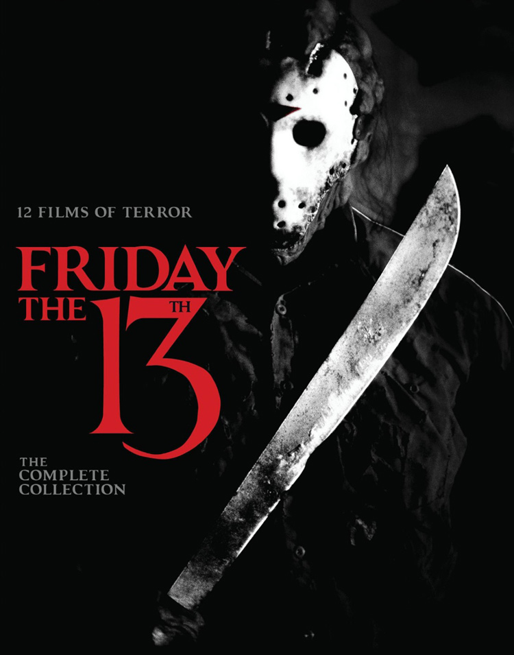 Friday the 13th Blu-ray Box Set Cover