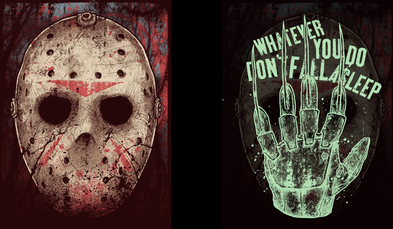 Alternative Art : Freddy Vs Jason Godmachine