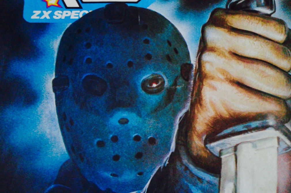 Crash Magazine Friday the 13th Cover Art