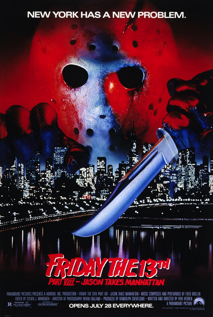 Friday the 13th Part 8 Poster
