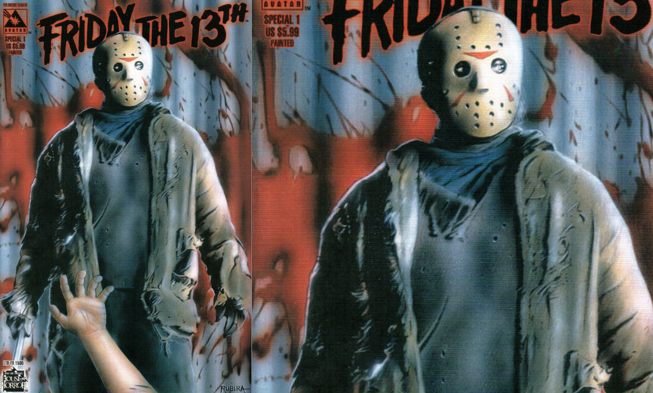 Friday the 13th Special : Painted Variant Cover Art