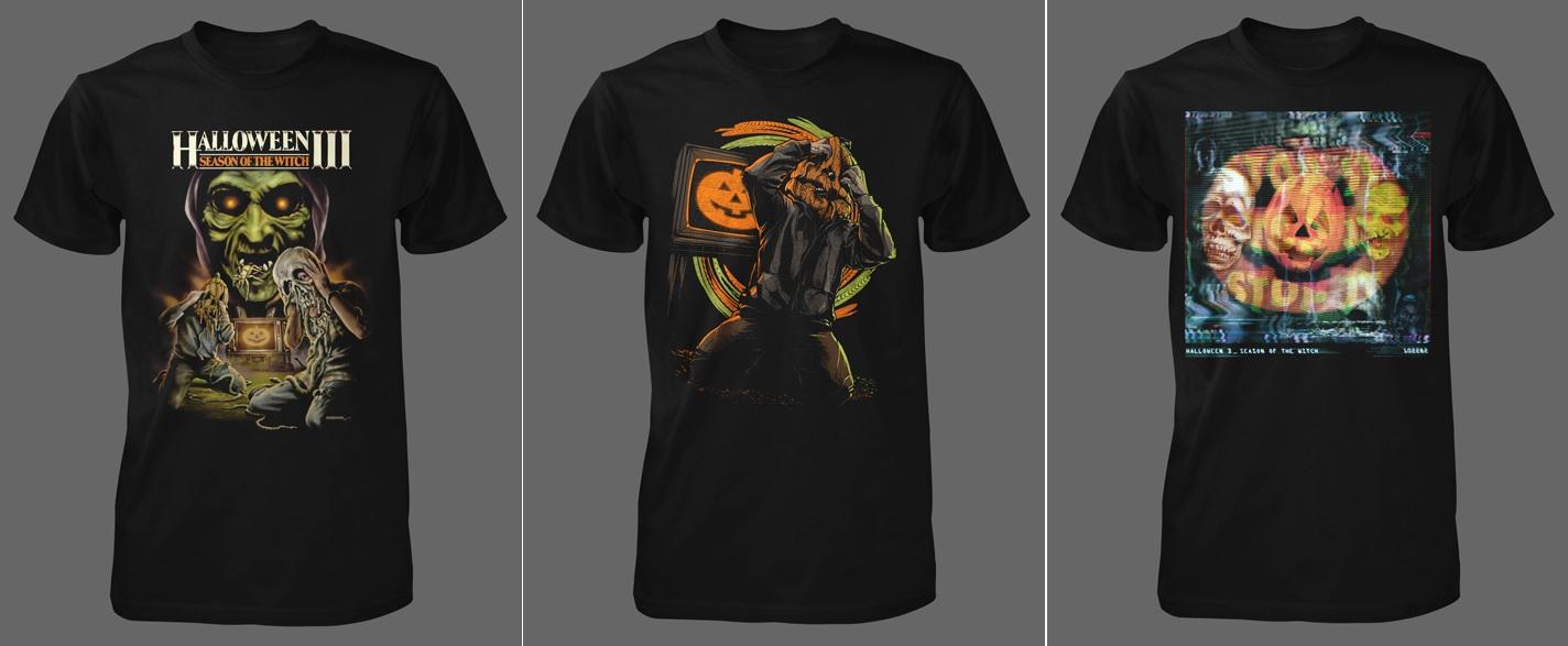 Halloween 3 shirts