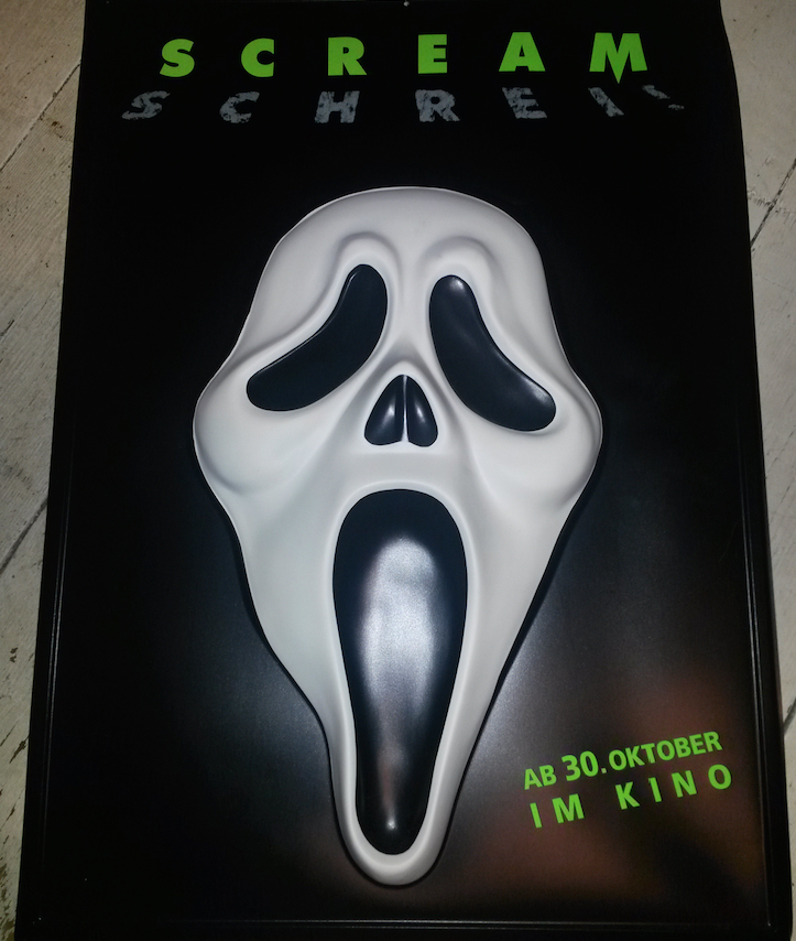 German Scream Poster 3D 1996