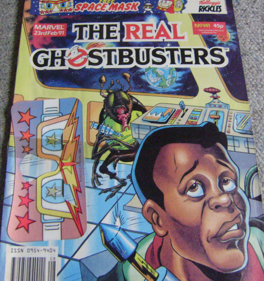 Ghostbusters UK Comic Issue 141
