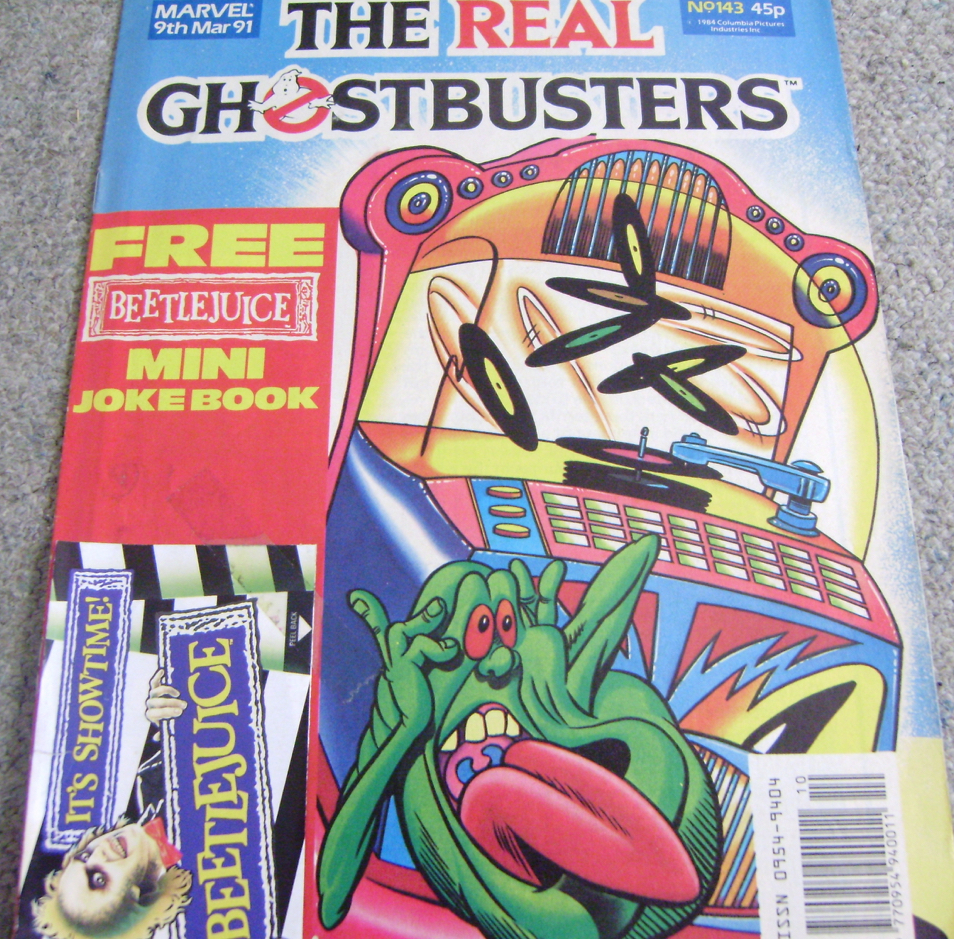 Ghostbusters Uk Comic Issue 143