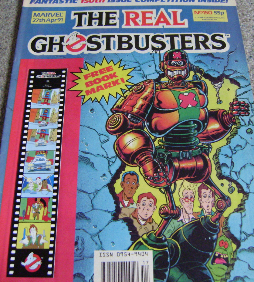 Ghostbusters UK Comic Issue 150