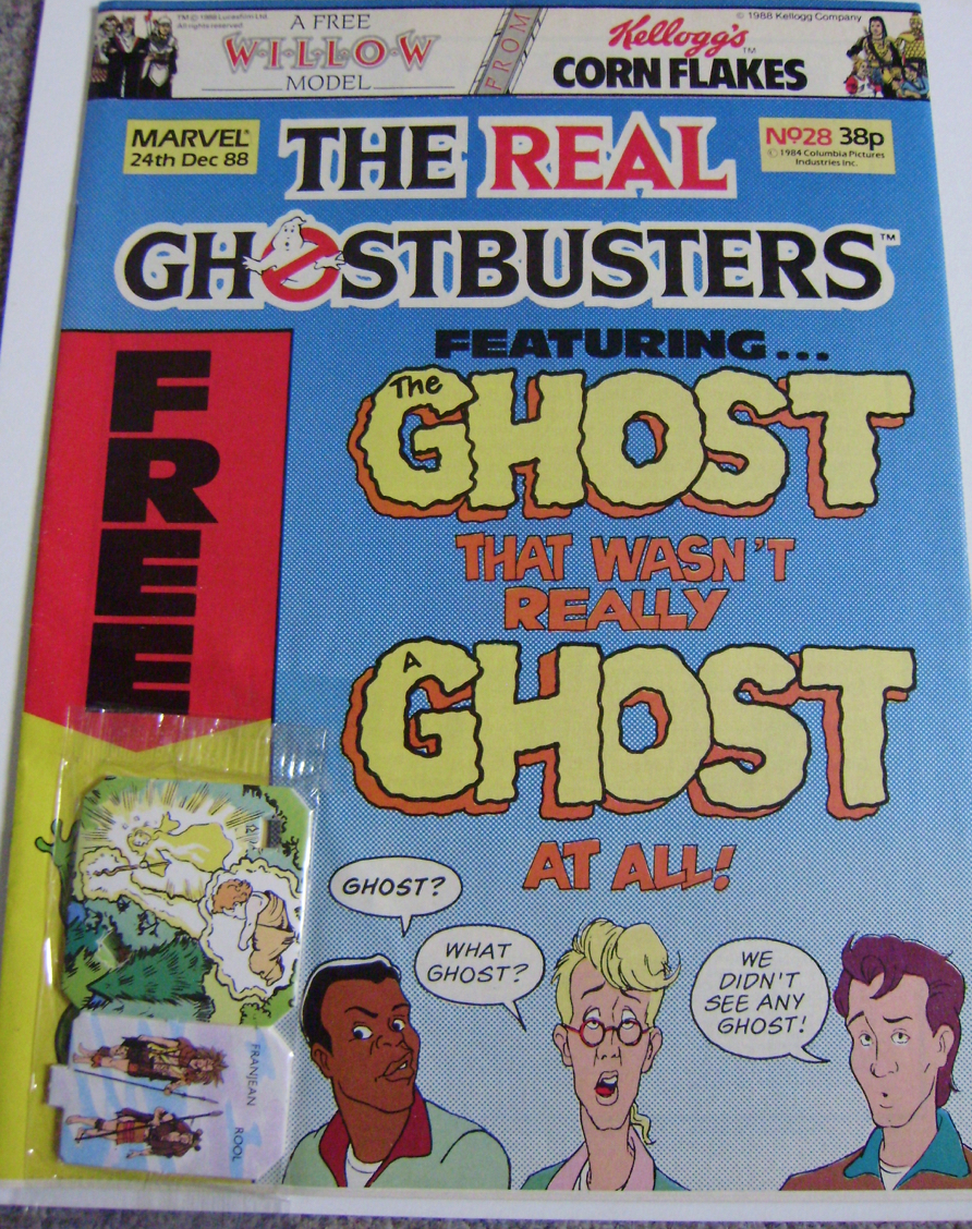 Ghostbusters UK Comic Issue 28