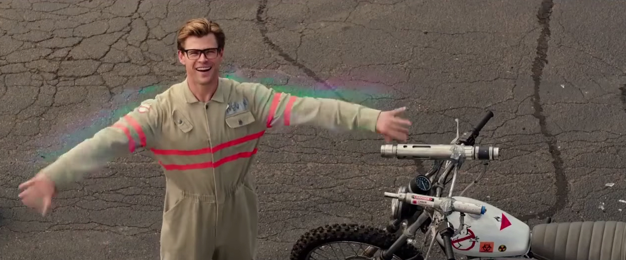 Ghostbusters 2016 Chris Hemsworth