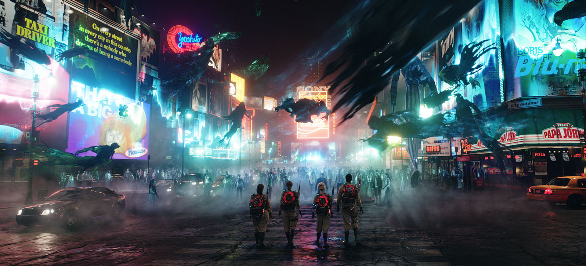 Ghostbusters 2016 - Times Square Battle