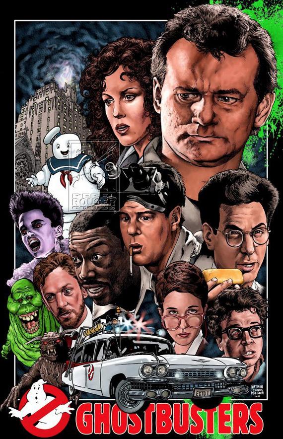 Ghostbusters Art