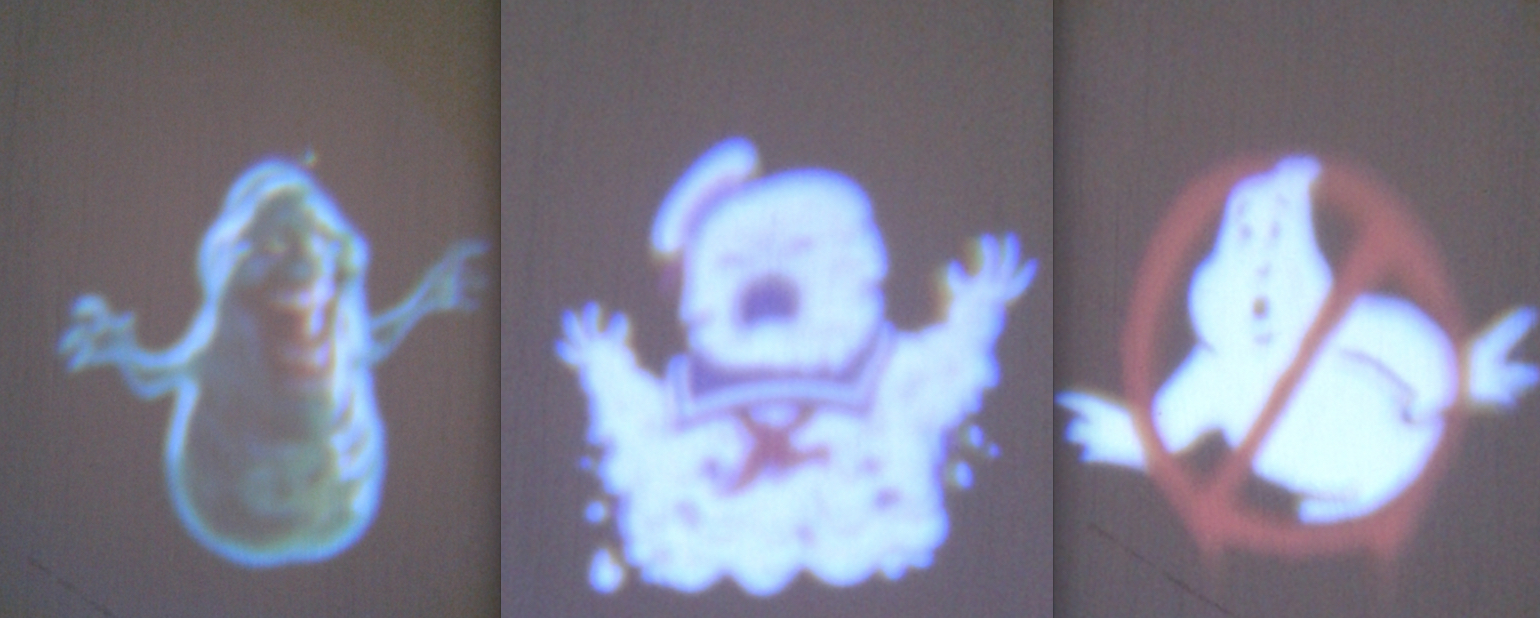 Ghostbusters Candy Projector Images