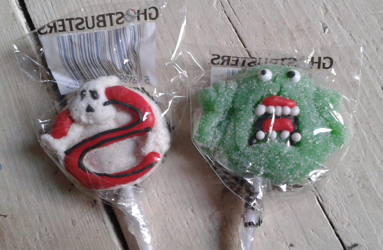 Ghostbusters Candy Review - Halloween Love