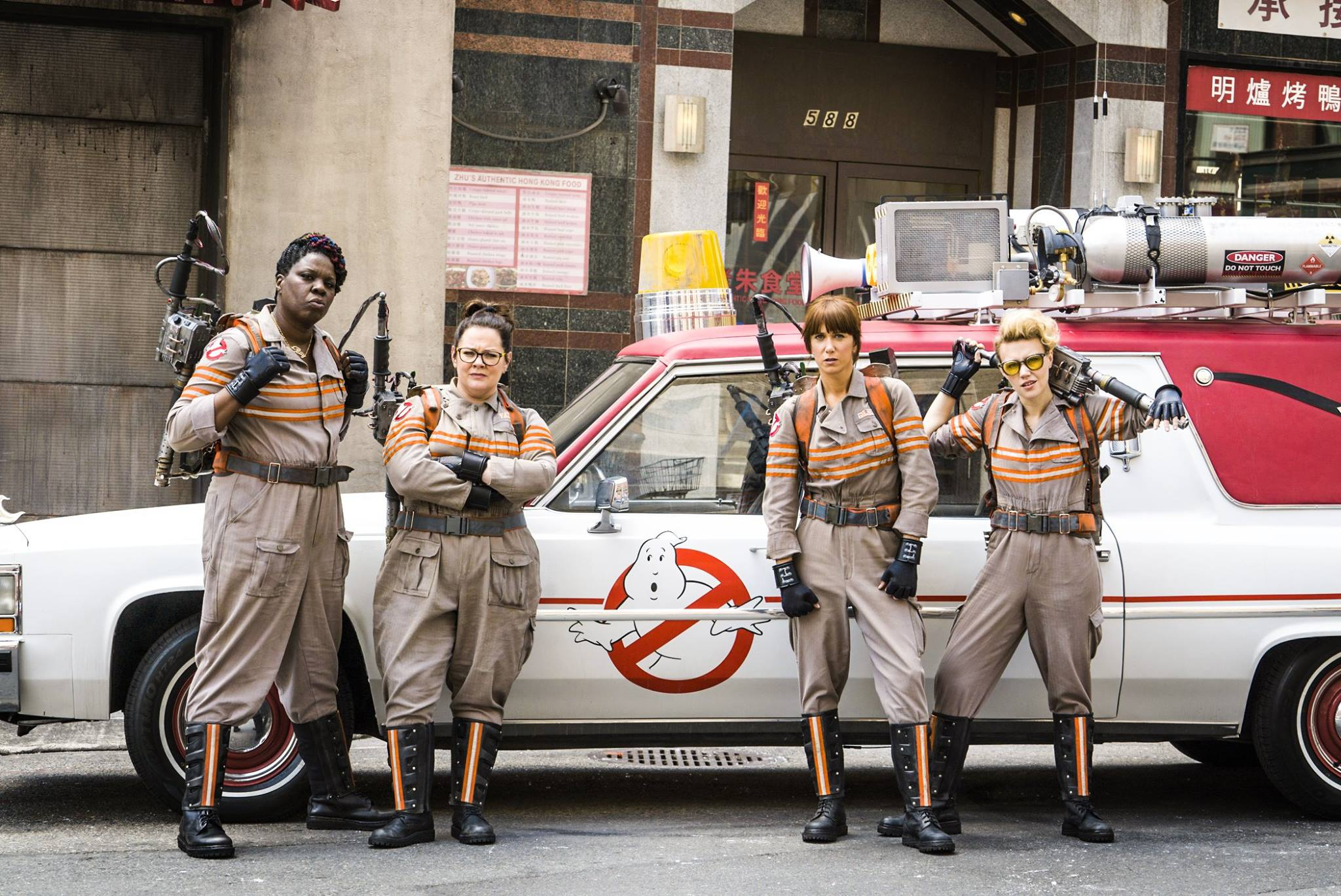Female Ghostbusters photo