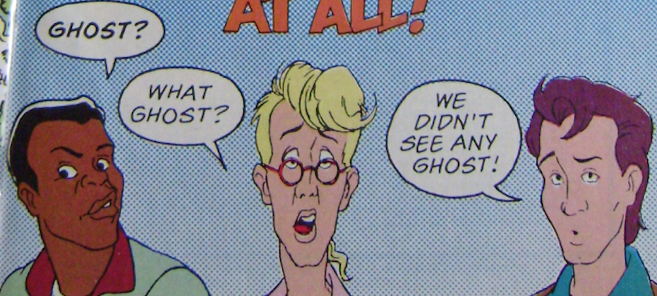 The Real Ghostbusters UK Comic Characters