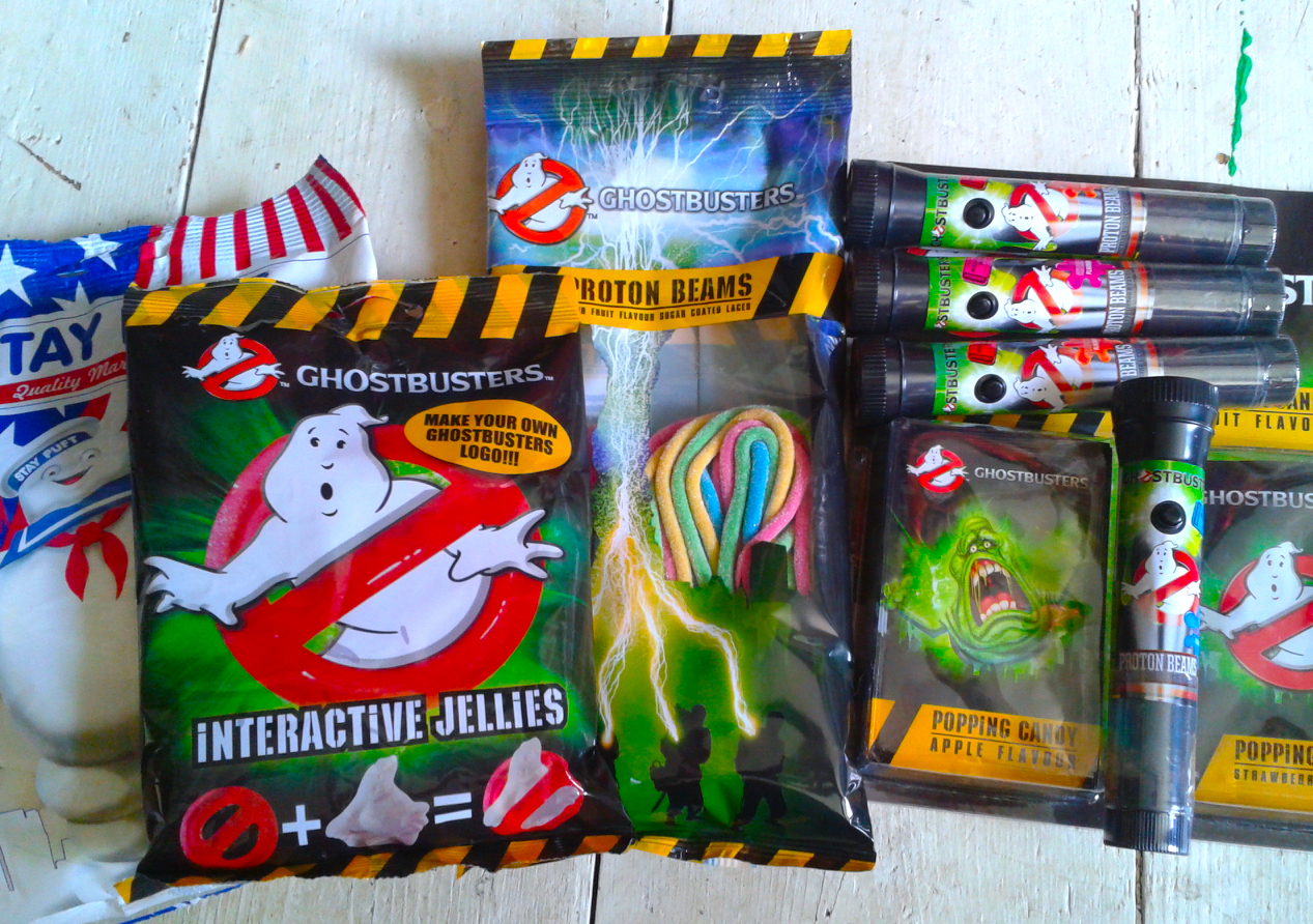 Ghostbusters New UK Candy Review 2016 - Halloween Love