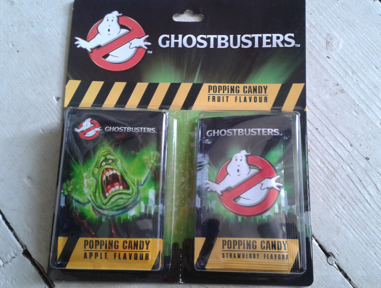 Ghostbusters Popping Candy 2016 Release