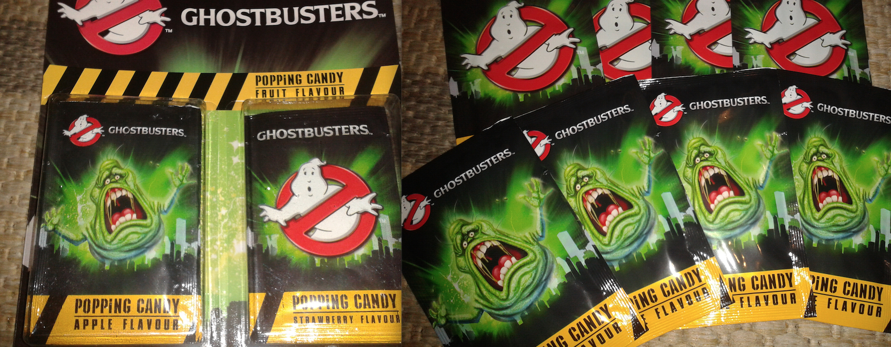 Ghostbusters Popping Candy - UK Exclusive