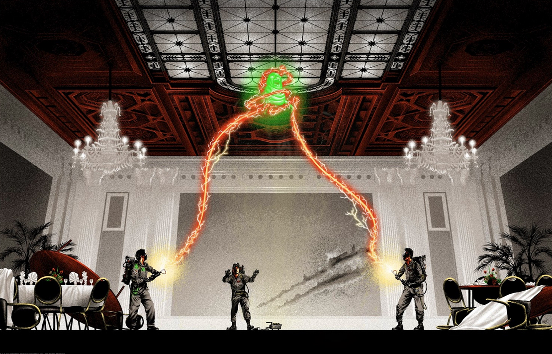 Ghostbusters Poster Art 1 : Mark Englert