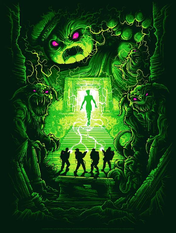 Ghostbusters Poster Art: Dan Mumford
