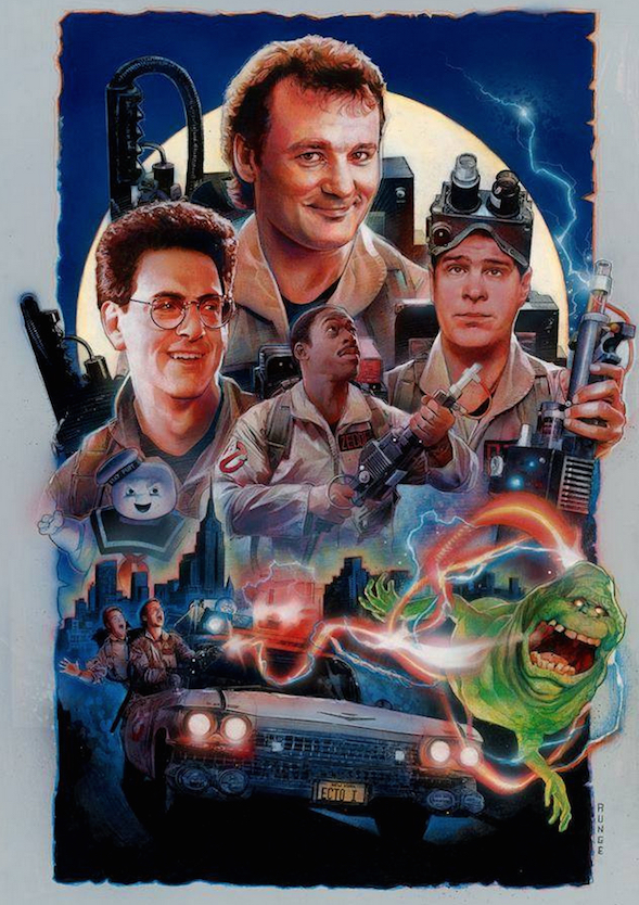 Ghostbusters Poster Art : Nick Runge
