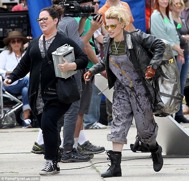 female Ghostbusters